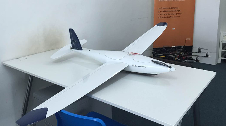 Fixed Wing - Cumulus One  <br> <i><small>Workhorse for Orthophoto / Aerial Mapping Long Range Mission and Large Area with Limited Landing Space</small></i>